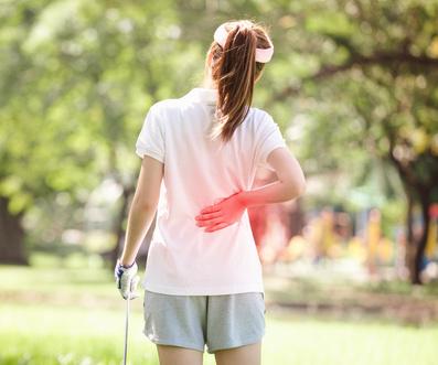 Golfing Injury